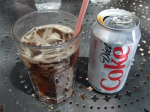 A Diet Coke, a treasure from the Himalayas.