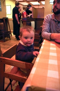 First high chair experience