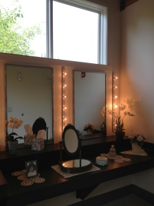 In case you need a vanity before or after your tour, the Ten Chimney's visitor's center has your back.