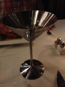 A refreshing Sapphire martini.