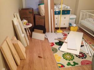 Bear's new dresser (I hope)