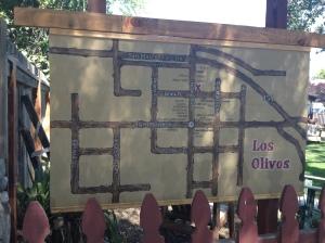 Los Olivos map